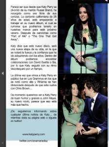 KATY PERRY ARTICULO